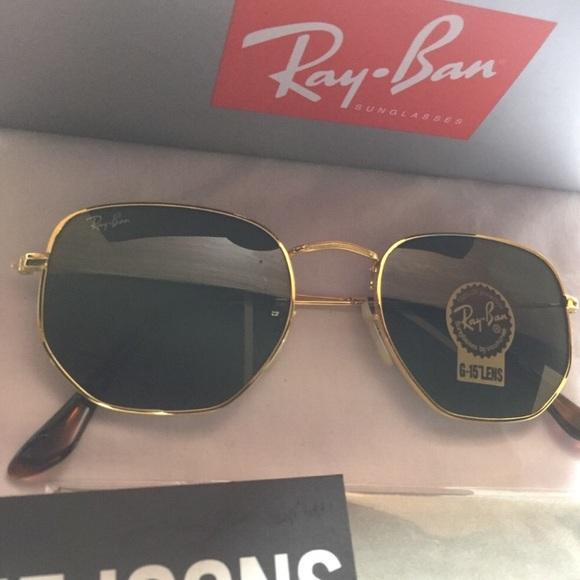 512302e43de Ray-Ban Hexagonal Rb3548 hexagon 3548-n Sunglasses
